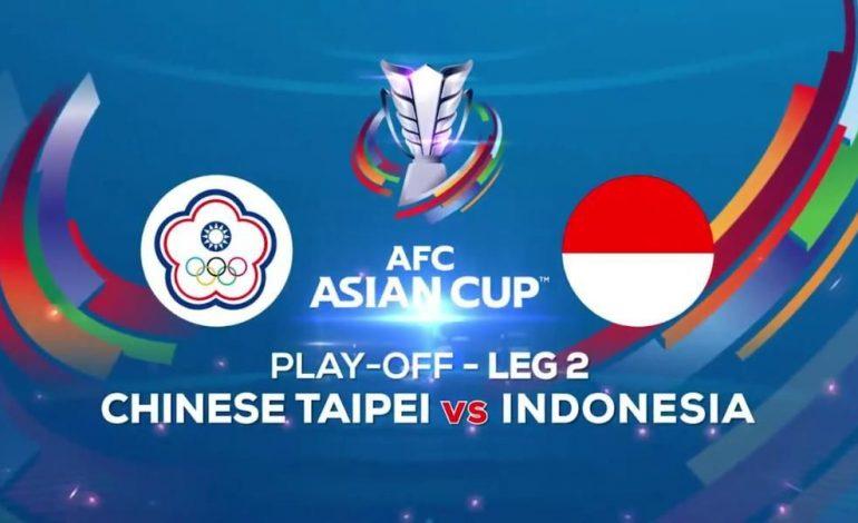 Indonesia vs Chinese Taipei Leg Kedua, Optimis Menang