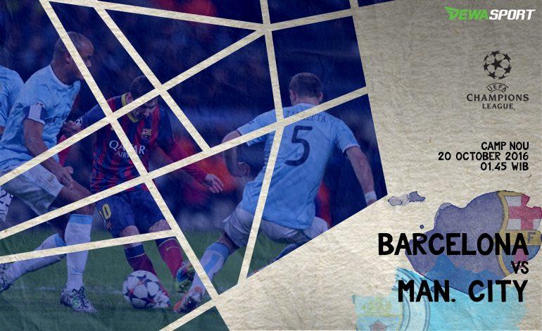 Prediksi Pertandingan Antara Barcelona melawan Manchester City