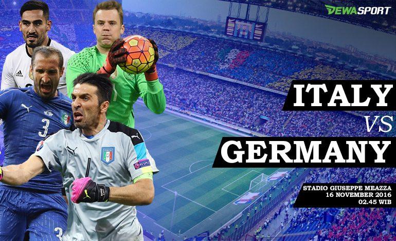 Prediksi Pertandingan Antara Italia Melawan Jerman