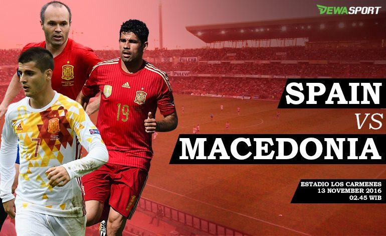 Prediksi Pertandingan Antara Spanyol Melawan Republik Macedonia