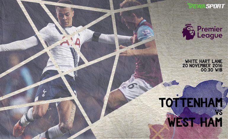 Prediksi Pertandingan Antara Tottemham Hotspur Melawan West Ham United
