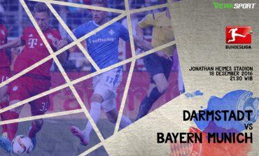 Prediksi Pertandingan antara Darmastadt 98 melawan Bayern Munchen