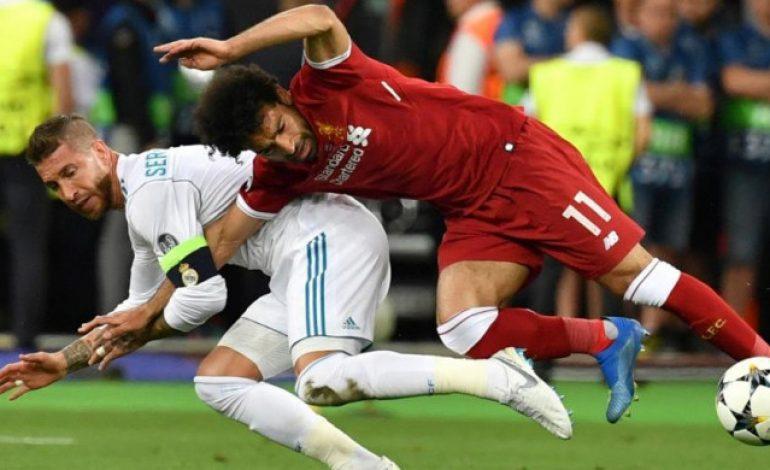 Lampard dan Ferdinand Benarkan Sergio Ramos soal Insiden dengan Salah