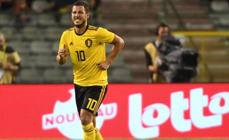 Aksi Hazard Dorong Rekan Setimnya di Belgia Tuai Banyak Reaksi dari Netizen