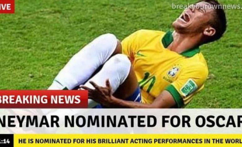 Aksi Diving Neymar Dijadikan Game Online, Sudah Mencoba?