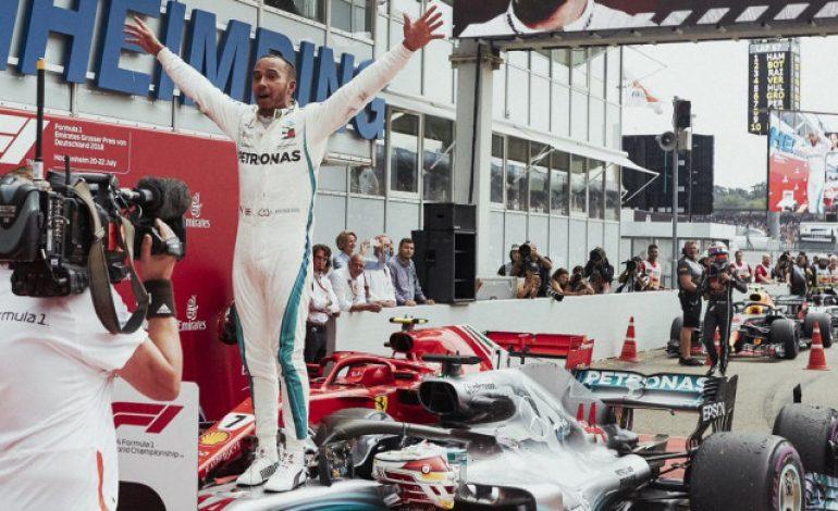 Lewis Hamilton Mengaku Bertambah Gemuk Pasca Kemenangan di Jerman