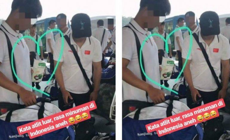 Viral Atlet China Diduga Tak Sengaja Minum Santan, Netizen Sampai Bilang Begini