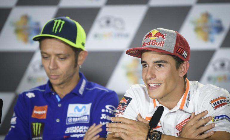 MotoGP: Ditanya Siapa Pembalap Idola, Marquez Masih Pilih Rossi