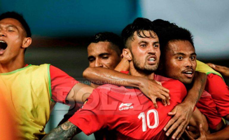 Media Asing Pilih Laga Timnas U-23 Indonesia Kontra Timnas U-23 Palestina Jadi Momen Paling Berkesan di Asian Games 2018