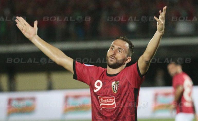 Kemenangan Bali United Jadi Kado Indah di Hari Ulang Tahun Ilija Spasojevic