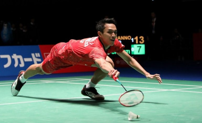 Tumbang di Japan Open 2018, Jonatan Christie Tetap Banjir Semangat dari Netizen