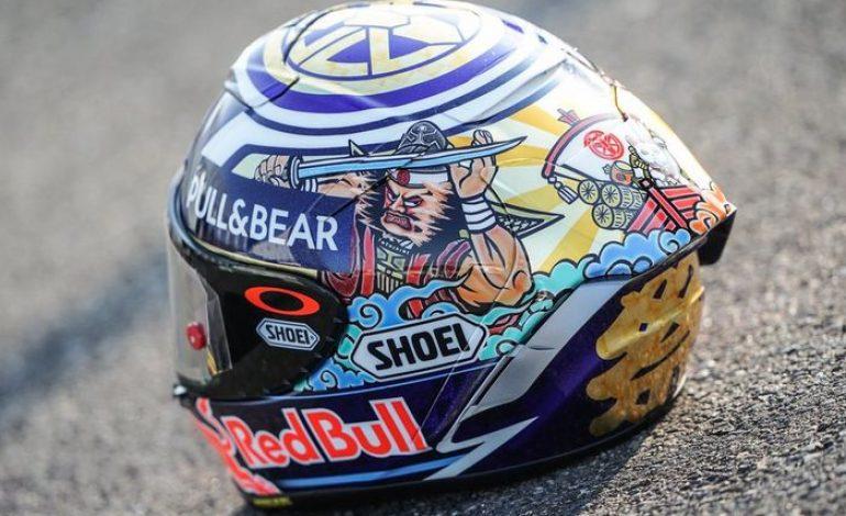 Marc Marquez Pamer Helm Baru, Persiapan Juara di MotoGP Jepang?