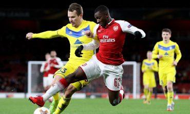 Kartu Merah Lacazette Perparah Kekalahan Arsenal di Borisov Arena