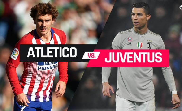 Preview Atletico Madrid vs Juventus: Adu Tajam Lini Depan