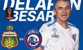 Preview Bhayangkara FC vs Arema: Jangan Bicara Rekor