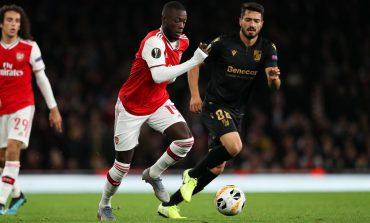 Man of the Match Arsenal vs Vitoria Guimaraes: Nicolas Pepe