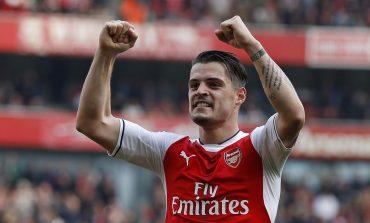Arsenal Copot Xhaka dari Jabatan Kapten, Aubameyang Jadi Pengganti