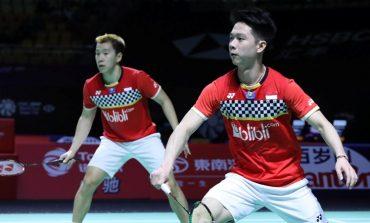 Atasi Wakil Jerman, Marcus/Kevin Melaju ke Semifinal Fuzhou China Open 2019