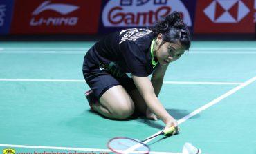 Langkah Gregoria Mariska Terhenti di Babak Kedua Fuzhou China Open 2019