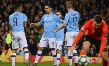 Hasil Pertandingan Manchester City vs Shakhtar Donetsk: Skor 1-1