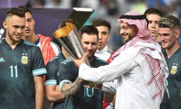 Girangnya Messi Bawa Argentina Kalahkan Brasil