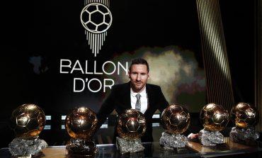 Raih Ballon d'Or, Messi : Saya Tak Mau Berhenti Bermimpi