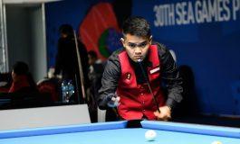 SEA Games 2019: Permalukan Juara Dunia, Pebiliar Muda Indonesia Lolos ke Semifinal