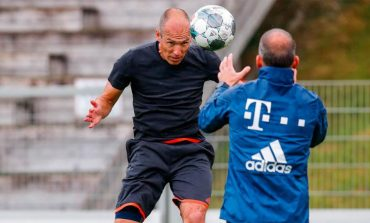 Kembali Latihan bersama Bayern Munchen, Arjen Robben Comeback?