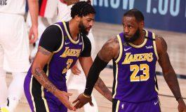 LeBron James dan Anthony Davis Jadi Bintang Kemenangan LA Lakers atas Portland Trail Blazers