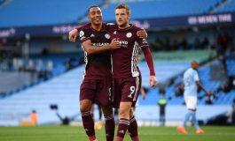 Vardy Hattrick, Leicester Permalukan Man City dan Naik ke Puncak Klasemen