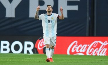 Argentina vs Ekuador 1-0, Lionel Messi: Kami Masih Grogi