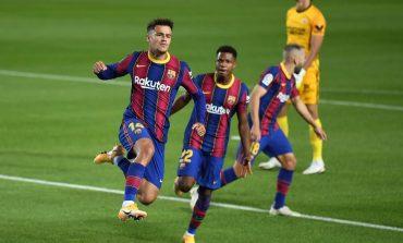 Gol Coutinho Selamatkan Barcelona dari Kekalahan Kontra Sevilla
