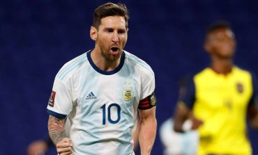 Lionel Messi Bawa Argentina Bungkam Ekuador