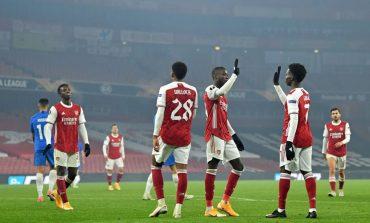 Hasil Pertandingan Arsenal vs Molde: Skor 4-1