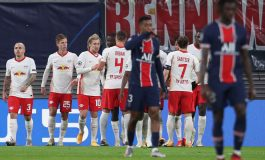 Leipzig Taklukkan Sembilan Pemain PSG 2-1
