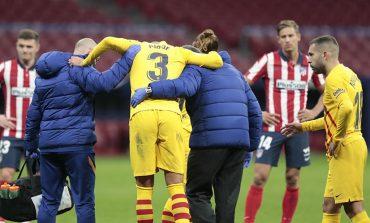 Kabar Buruk untuk Barcelona, Gerard Pique dan Sergi Roberto Cedera Parah