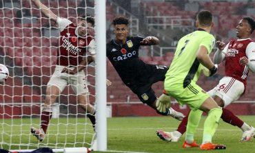 Hasil Pertandingan Arsenal vs Aston Villa: Skor 0-3