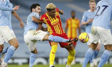 Hasil Pertandingan Manchester City vs West Brom: Skor 1-1