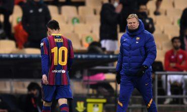 Lionel Messi Sedih dan Minta Maaf atas Kartu Merahnya