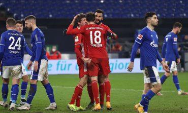 Schalke vs Bayern: Mueller Dua Gol, Die Roten Menang 4-0