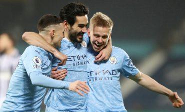 WBA vs Man City: Pesta Gol 5-0, The Citizens ke Puncak Klasemen