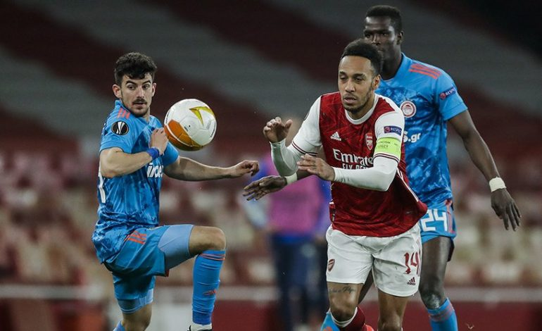 Hasil Pertandingan Arsenal vs Olympiakos: Skor 0-1