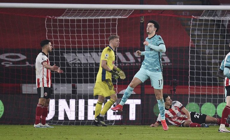 Hasil Pertandingan Sheffield United vs Liverpool: Skor 0-2
