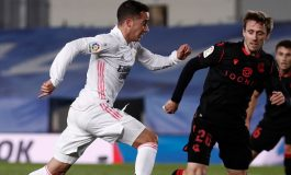 Man of the Match Real Madrid vs Real Sociedad: Lucas Vazquez
