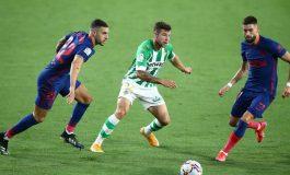 Real Betis vs Atletico Madrid Tuntas 1-1