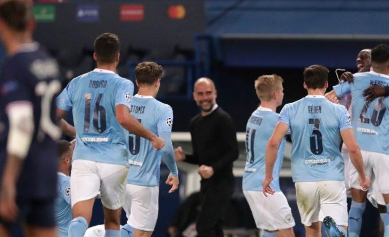 Hasil Pertandingan PSG vs Manchester City: Skor 1-2