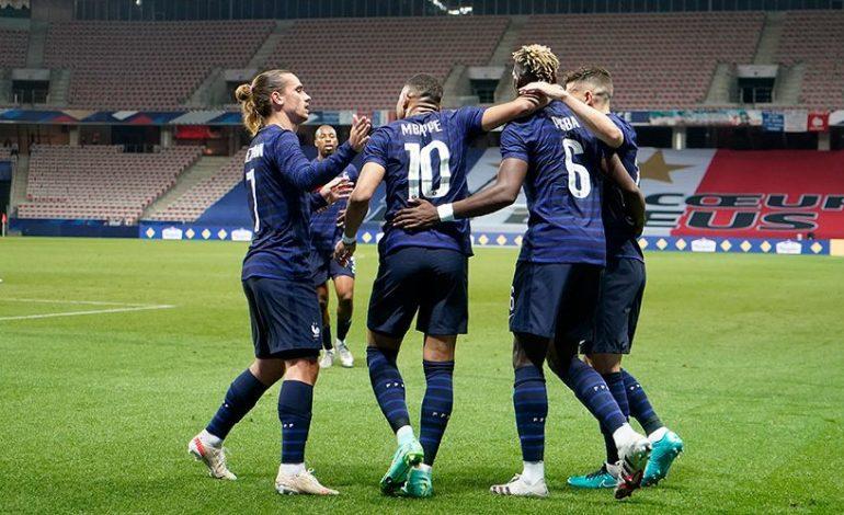 Hasil Pertandingan Prancis vs Wales: Skor 3-0