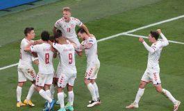 Hasil Euro 2020 Rusia vs Denmark: Skor 1-4