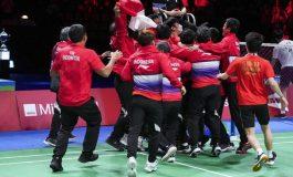 Thomas Cup 2020 - Indonesia Juara Setelah Kalahkan China