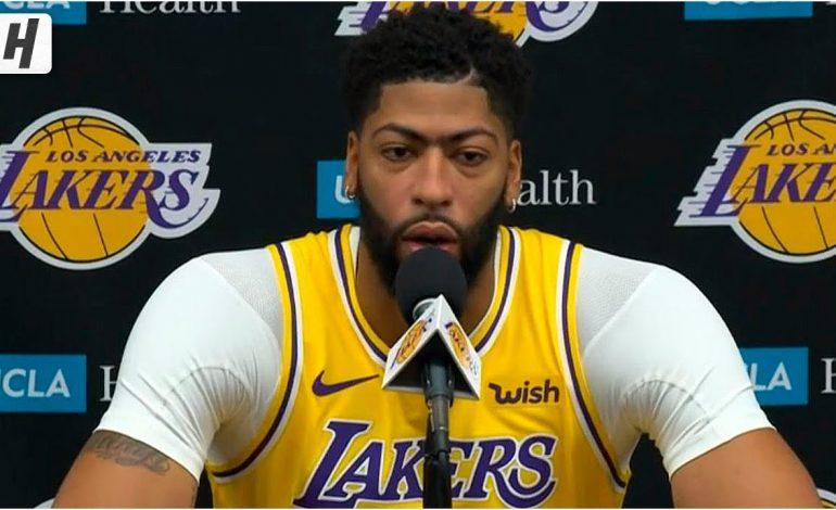Anthony Davis Berjanji LA Lakers Akan Juara Musim Ini